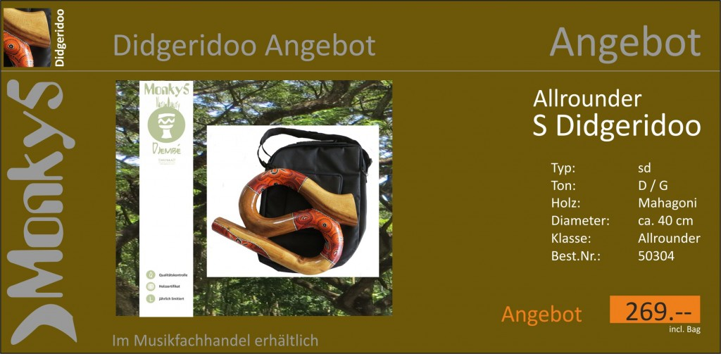 Monky5 Didgeridoo Angebot S Didgeridoo Post 18.03